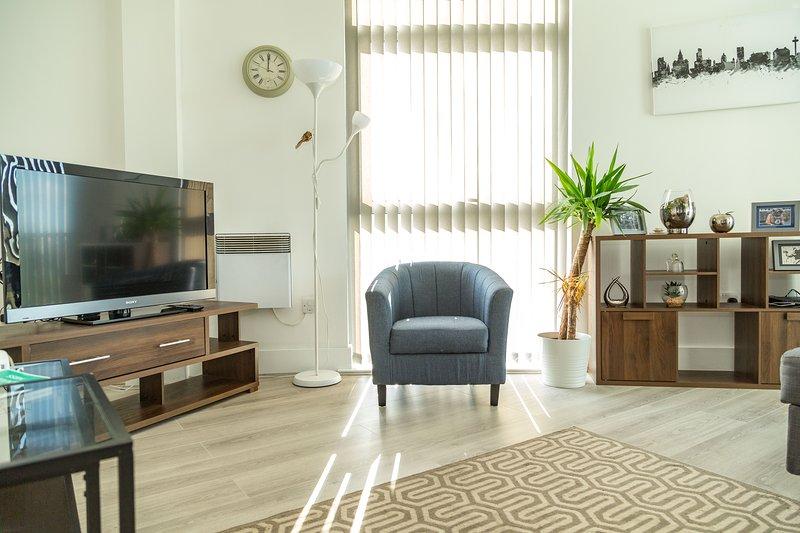 Kent Street Liverpool City Centre Apartment (Prime Location), holiday rental in Bebington