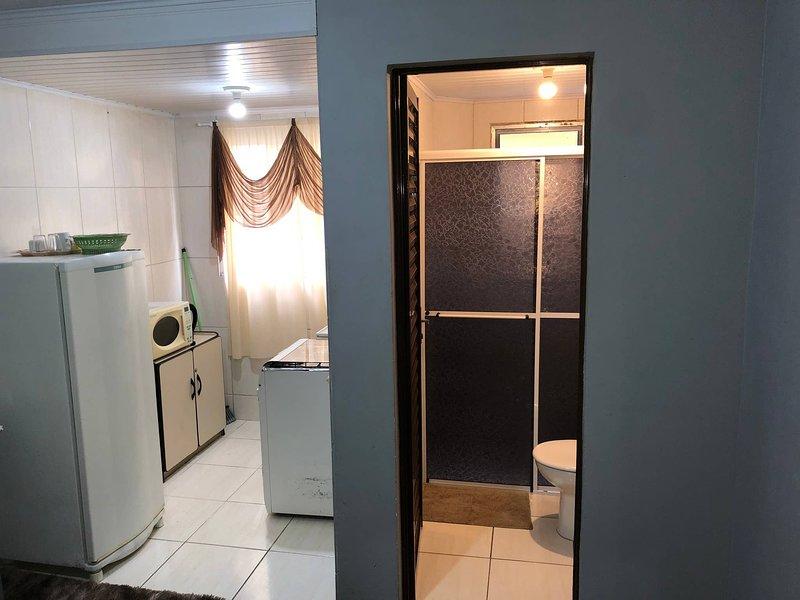 Expo Unimed Apto6 Suite Completo Campo Comprido, casa vacanza a Curitiba