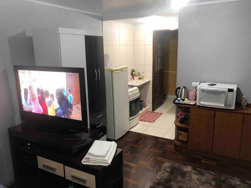 Expo Unimed Apto Suite Positivo Ecoville, casa vacanza a Curitiba