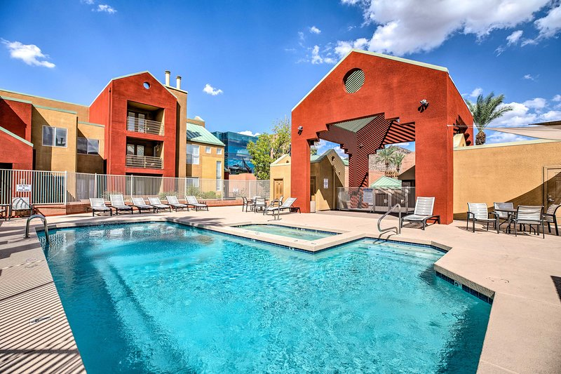 This vacation rental offers community amenities for guests to use.