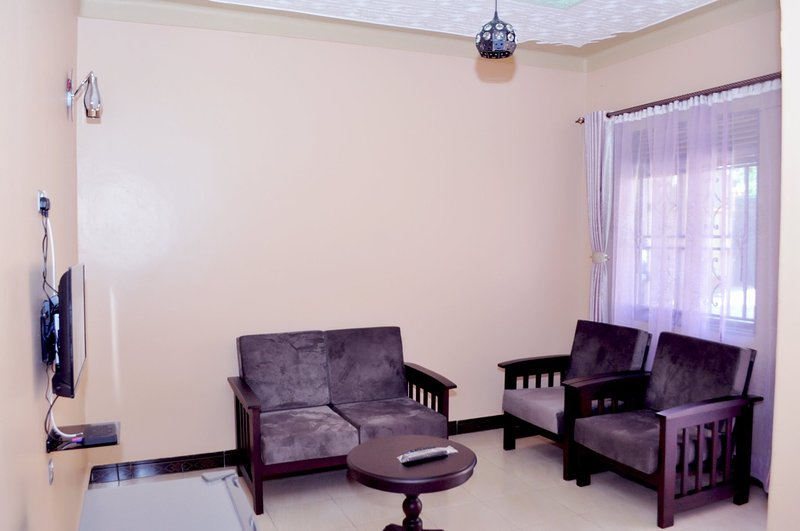 Antique apartment 5 with one seating room one bedroom,private kitchen &bathroom, vacation rental in Entebbe