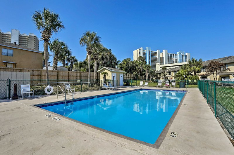 Perfect your tan by the community pool just 100 yards away.