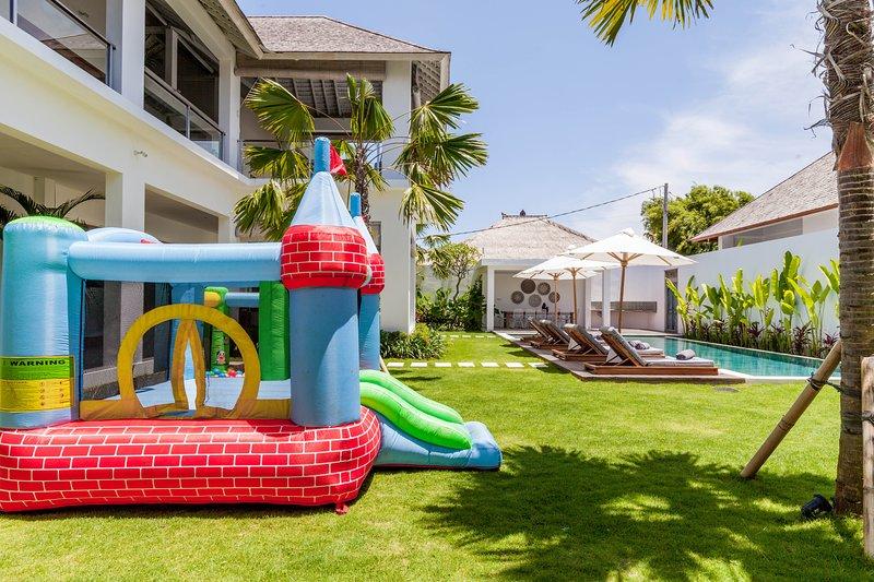 Complimentary Bouncy Castle