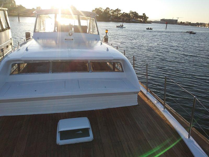 Classic 46 foot Yacht for 2, alquiler de vacaciones en Oakland