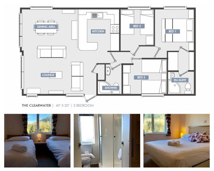 Lodge A - 6 Berth (Fairways)Self-Catering Accommodation, Perranporth, holiday rental in Perranporth