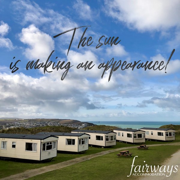 Caravan No3 ~ 4 berth Caravan-(Fairways)Self-Catering Accommodation, Perranporth, holiday rental in Bolingey