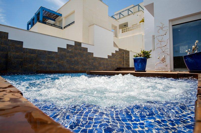 Villa Las Puertas. Villazul Cabo de Gata, alquiler de vacaciones en Cabo de Gata