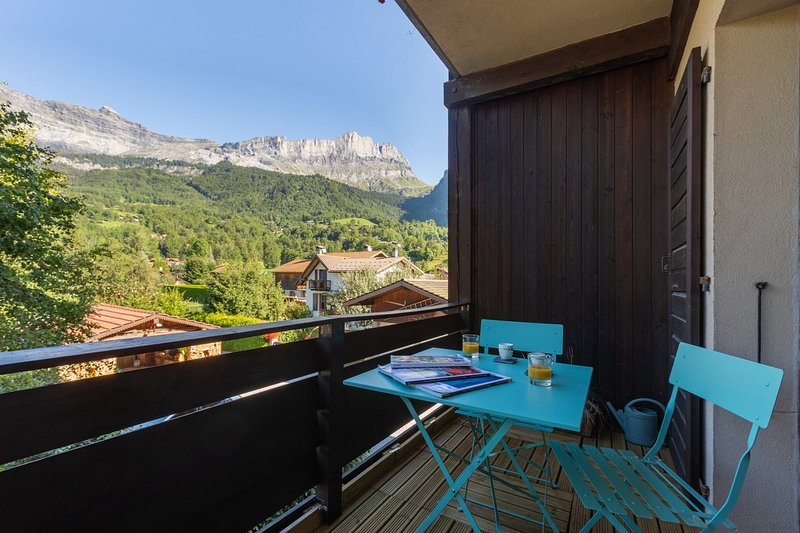 Appartement La Sauvageonne, holiday rental in Servoz