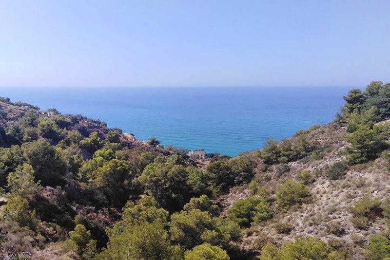 Nature, Sea and amazing views at Mirador del Cannuelo – semesterbostad i La Herradura