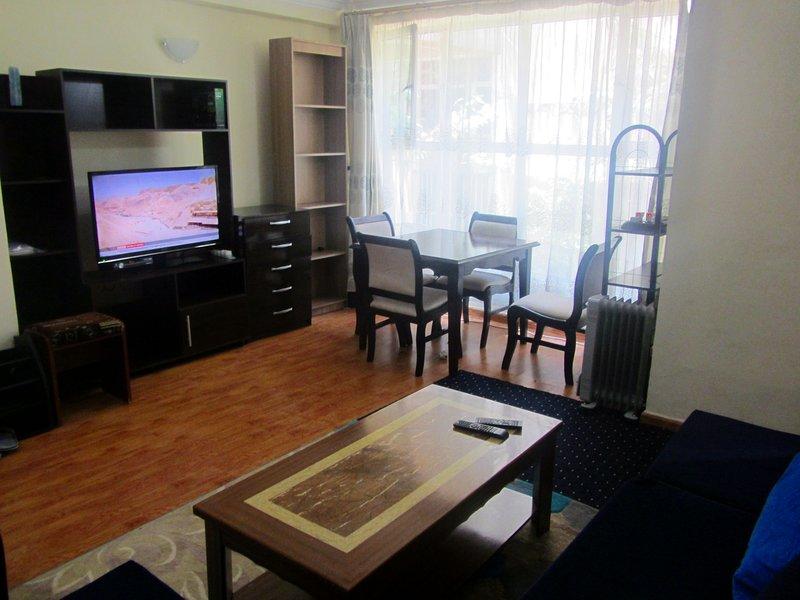 Perfect Apartment for long-term rent with WIFI, aluguéis de temporada em Addis Abeba