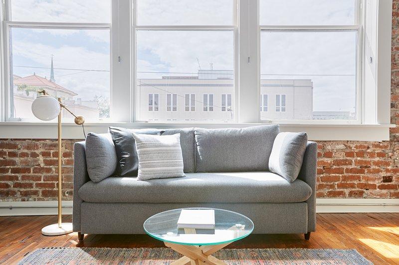 Full-size sleep sofa