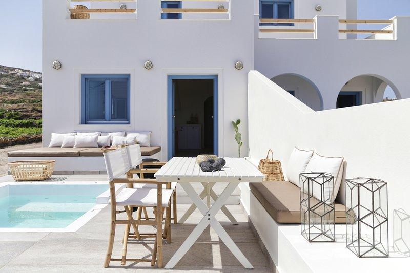 Foinikia Villa Sleeps 4 with Air Con - 5813727, holiday rental in Foinikiá