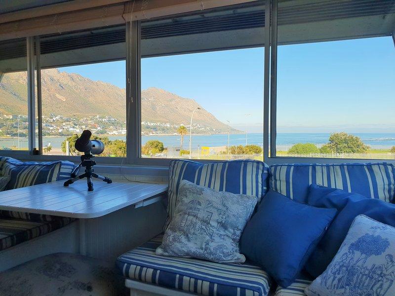 Area relax 2 con vista mare