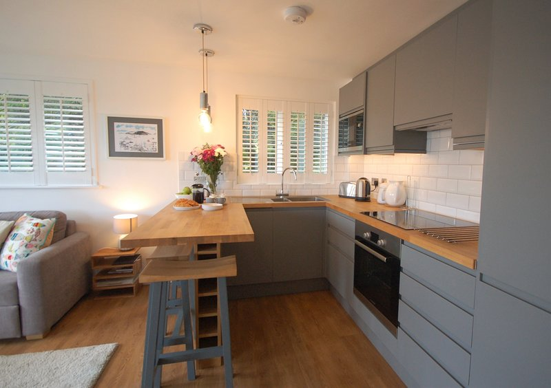 Fully fitted bespoke kitchen
