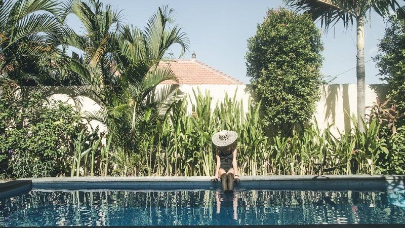 A Hidden Oasis Nestled Among Rice Fields in Canggu, holiday rental in Tanah Lot