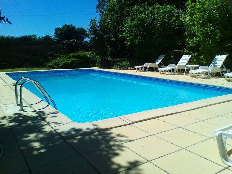 'Papillon' at La Grange du Moulin Child friendly gites, holiday rental in Saint Hilaire de Villefranche