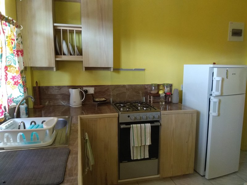 Modern fully equipped kitchenette