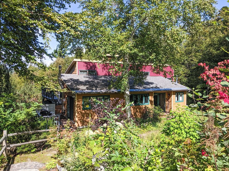 Call the mountains of Stowe, VT home while staying at this vacation rental house