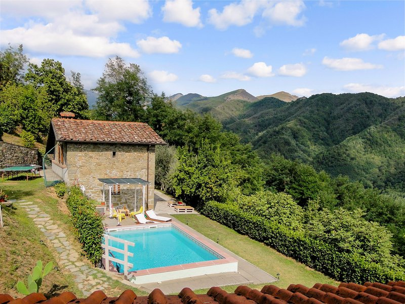 Vitiana - 30 mins from Lucca, stunning views WIFI, vacation rental in San Romano