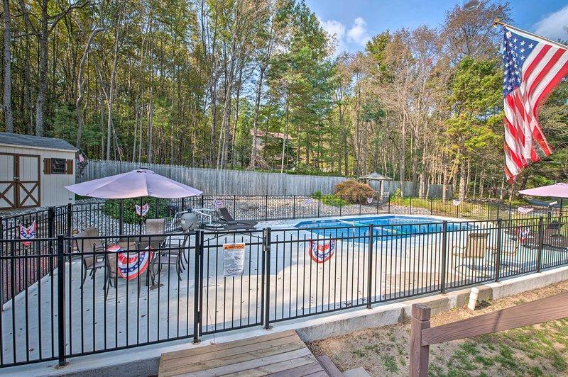 Cette maison a sa propre piscine privée!