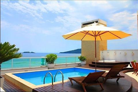 Apartamento de Cobertura de Frente para o mar - Praia dos Ingleses Florianópolis, vacation rental in Ingleses