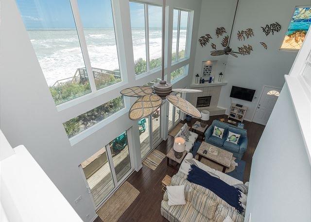 Welcome To Oceanfront Bliss!! Casa Tortuga, Newest OCEANFRONT Home Offering !, alquiler de vacaciones en Flagler Beach