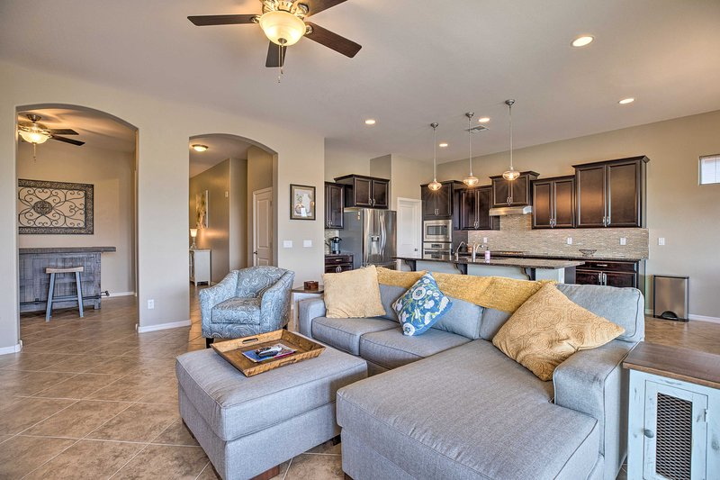 Plan your Arizona retreat at this 3-bed, 2.5-bath vacation rental in Goodyear!