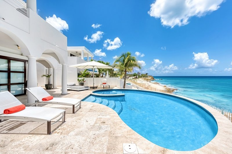 Villa Mumbai | Ocean View - Located in Magnificent Cupecoy with Private Pool, holiday rental in Sint Maarten
