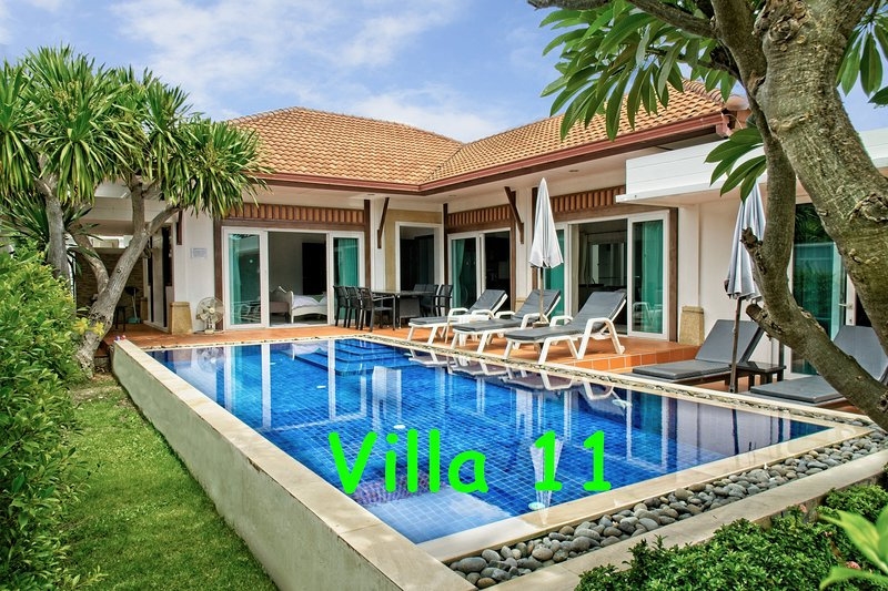 BUSABA POOL VILLA 11, holiday rental in Hua Hin