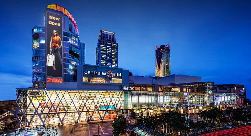 Central World 7 km (15-30 minutes drive or 32 minutes with BTS skytrain)