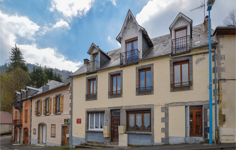 Beautiful apartment in Le Mont Dore with 1 Bedrooms (FUP007), holiday rental in La Bourboule