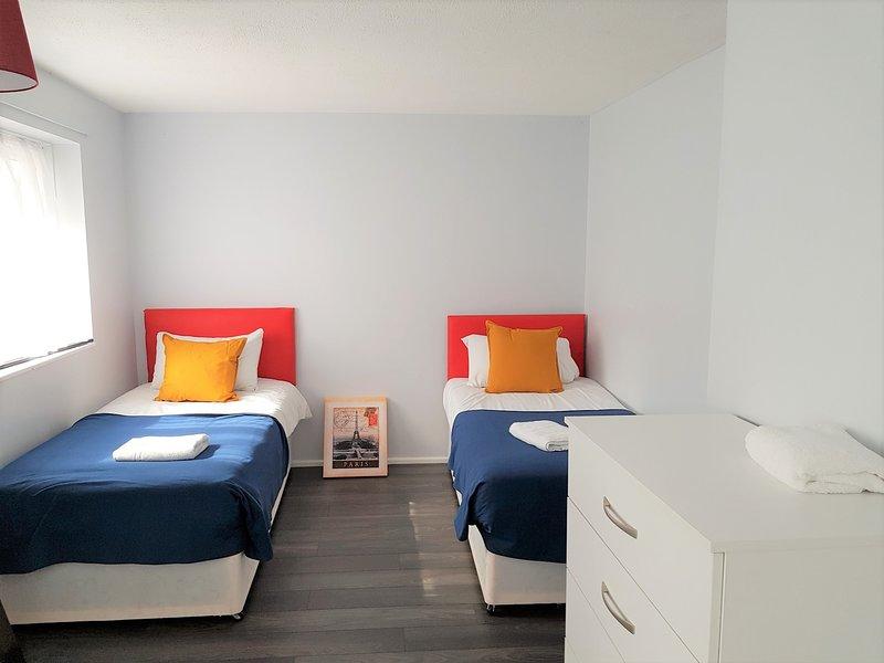 Huku Kwetu - Poynter House - Twin Bedroom