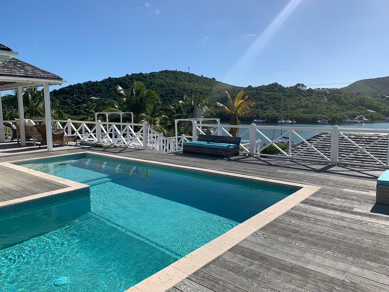 Kittyhawk, Private villa with pool, English Harbour, Antigua, vakantiewoning in Mamora Bay