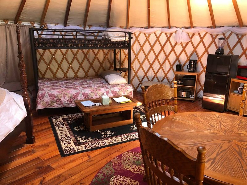 Inside DW YURT