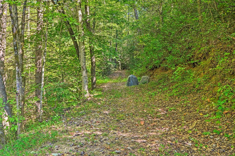 Traverse the many hiking trails.