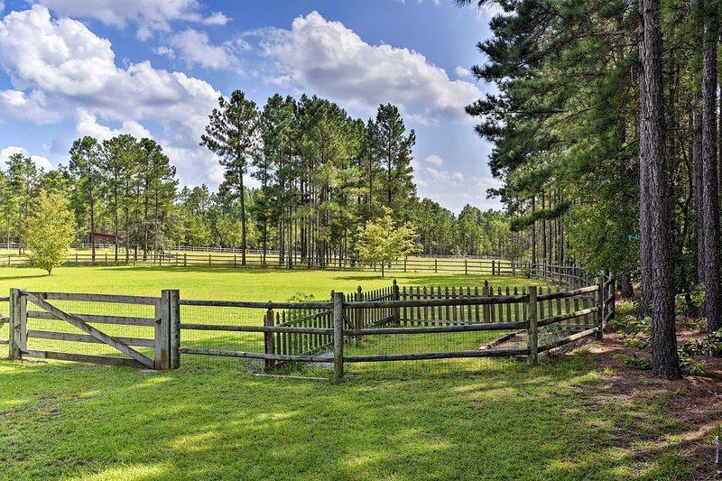 Enjoy access to a beautiful pasture and community trails!