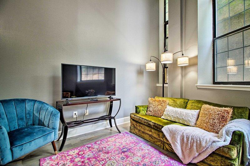 Vieni a soggiornare in questo appartamento calpestabile nel centro di Albany!
