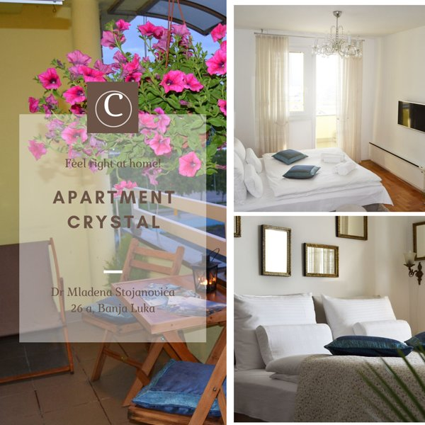 Apartment CRYSTAL-with FREE Parking and magnificent City view, vacation rental in Banja Luka