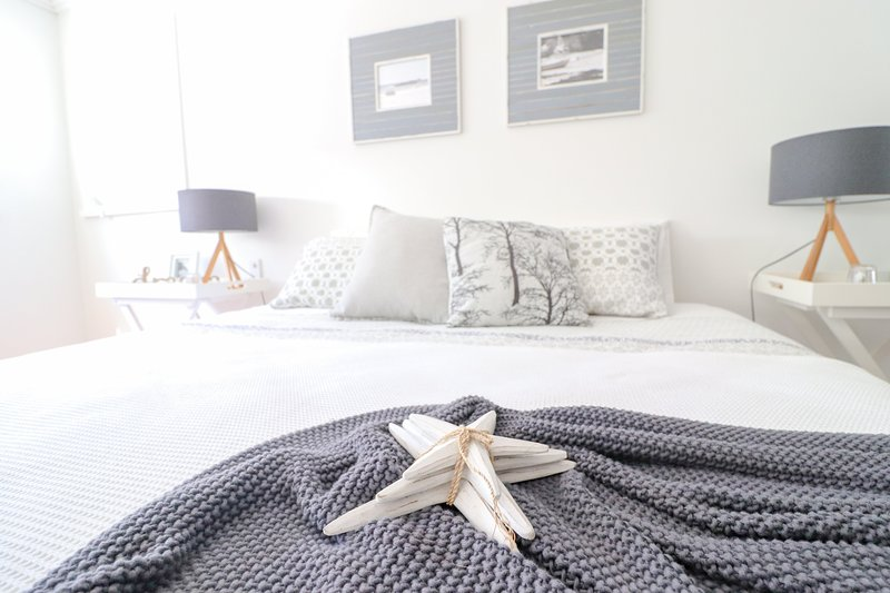 biancheria da letto confortevole
