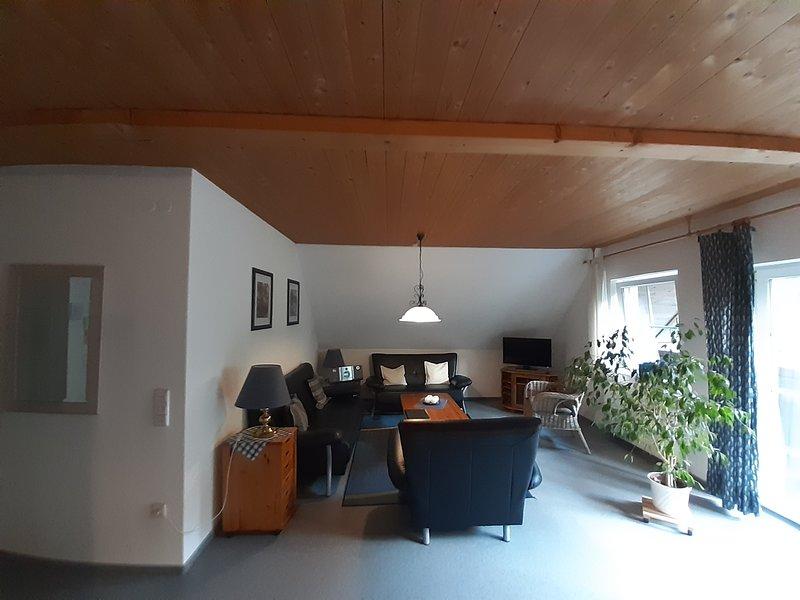 Gemütliche Ferienwohnung****, 2-5 Pers., 75qm, Balkon, 2 Schlafzimmer, wifi free, holiday rental in Ilfeld