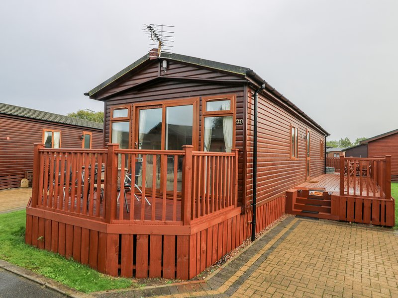 Thorn Abby Lodge, Malton, holiday rental in Old Malton