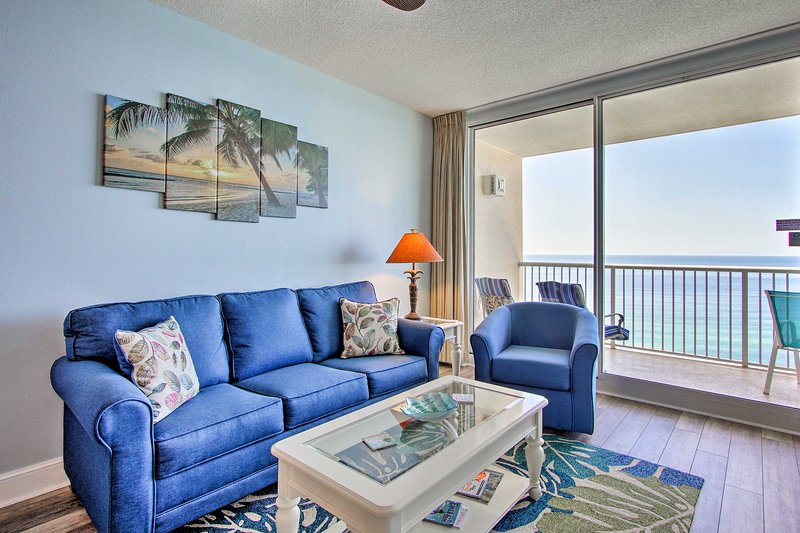 This unit comfortably accommodates 8 and offers access to resort amenities.