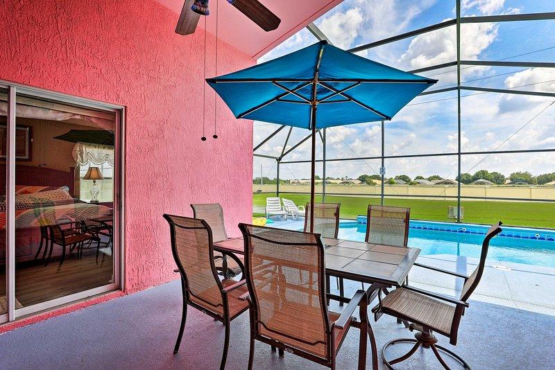 ¡La casa se llama acertadamente 'Pink Villa Orlando'!