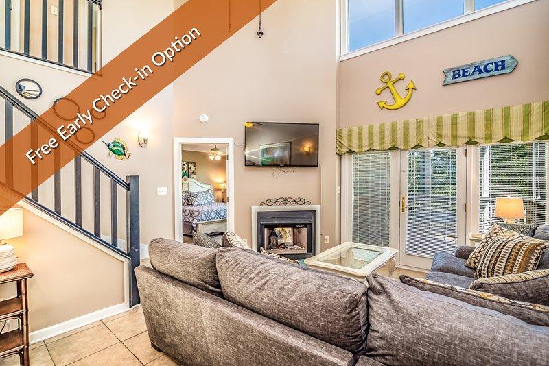 Open Living Area w/ Bonus Loft