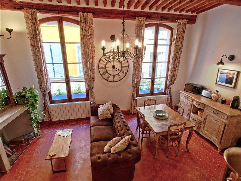 Cent Cinq 1 - one bedroom apartment in the heart of Apt, alquiler de vacaciones en Apt