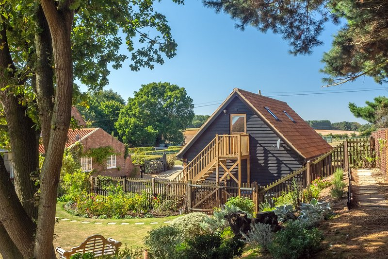 The Cartlodge, Iken, holiday rental in Blaxhall