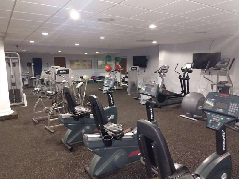 Cardio and other machines in the Regalia gym - our guests have access