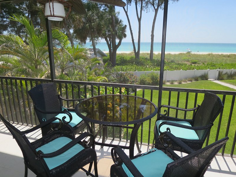 SUNSET BEACH 101 BEACH FRONT UNIT, holiday rental in Holmes Beach