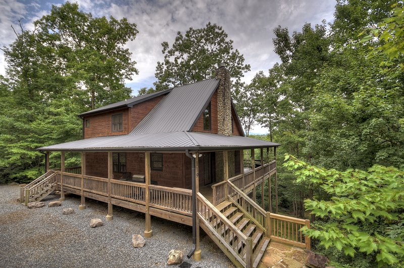 Crooked Creek- Creekview near Ocoee River, vacation rental in Ducktown