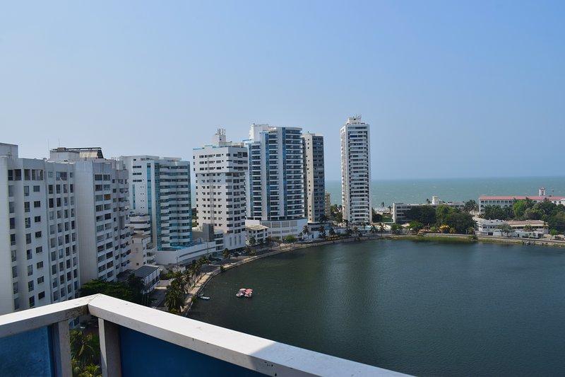 Apartamento con Balcon Cartagena, location de vacances à Bocachica